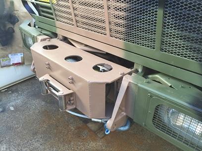 custom-unimog-winch-cradle-17000lb-runva-winch - Coffs Harbour 4WD